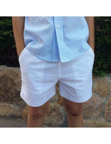 Pantalón niño con bolsillos.