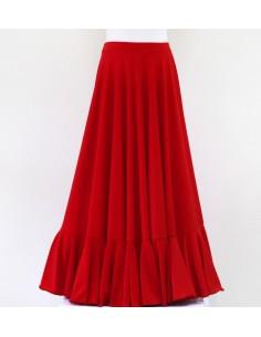 Falda de ensayo de niña