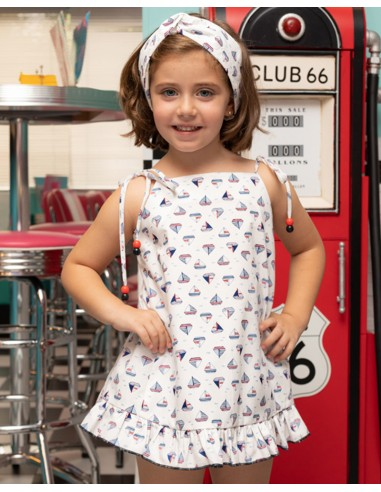 copy of Girl dress with yoke.