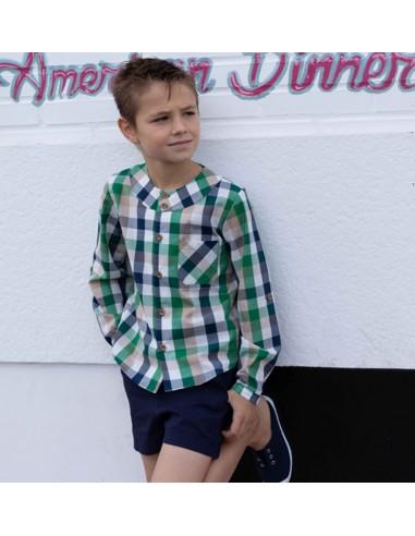 Patrón conjunto camisa y pantalón