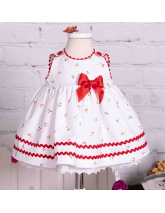 White pique dress
