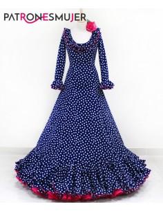 Flamenco dress.