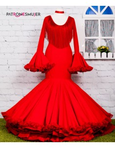 Flamenco dress .