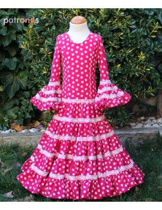 Flamenco dress girls.