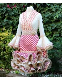 Patrón de conjunto flamenco...