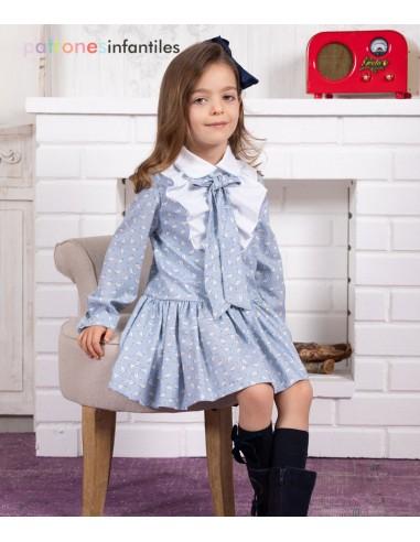 Patrón de vestido patitos