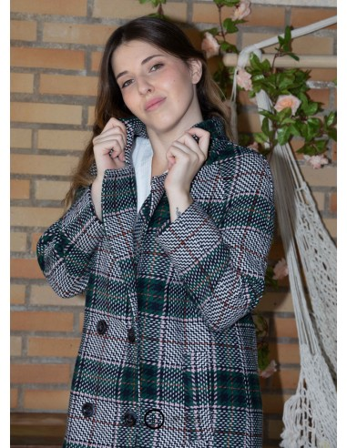 Checkered Coat.