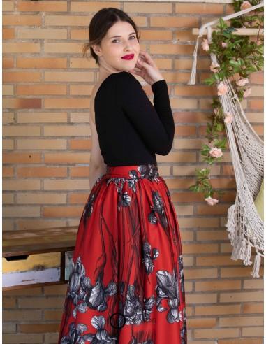 Conjunto de falda y body.