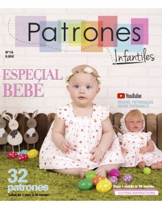 Magazine of children's patterns nº 16 special baby