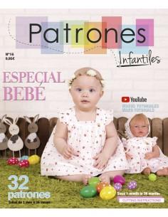 Revista de patrones infantiles nº 16 especial bebé