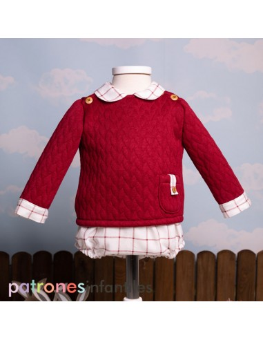Pattern baby outfit