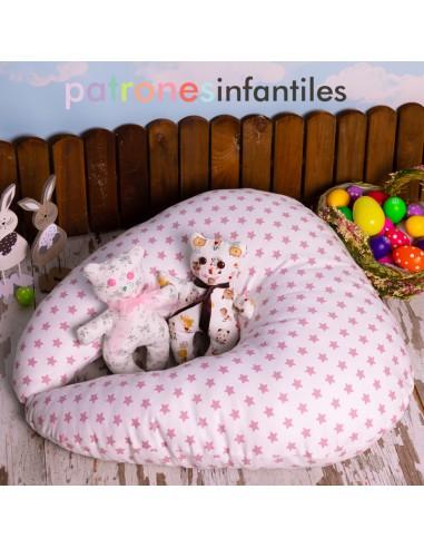 Pattern lactating pillow