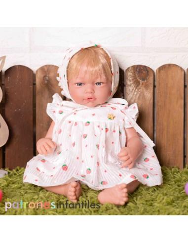 Pattern dress doll