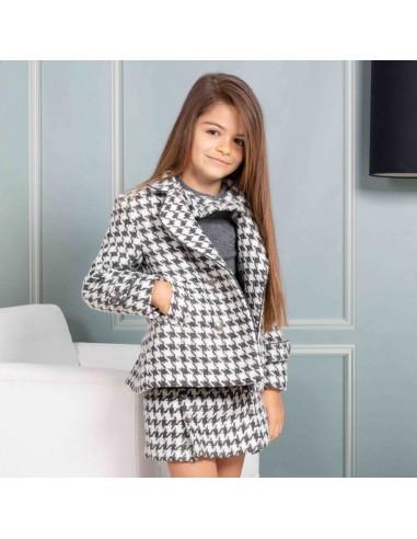 Pattern Girl´s coat