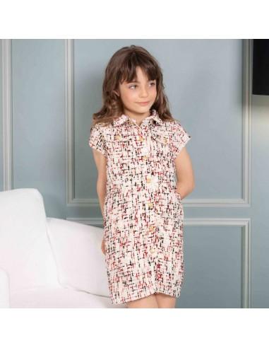 Pattern Chanel dress