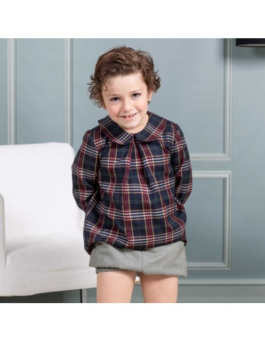 Pattern Shirt and bloomers outfit