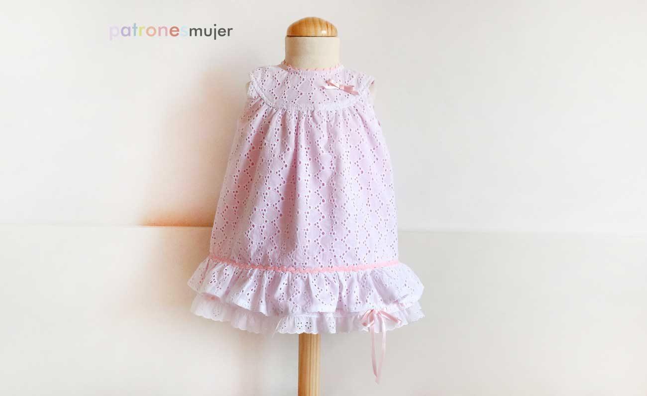 Vestido niña con canesú: DIY - Patronesmujer: Blog de costura ...
