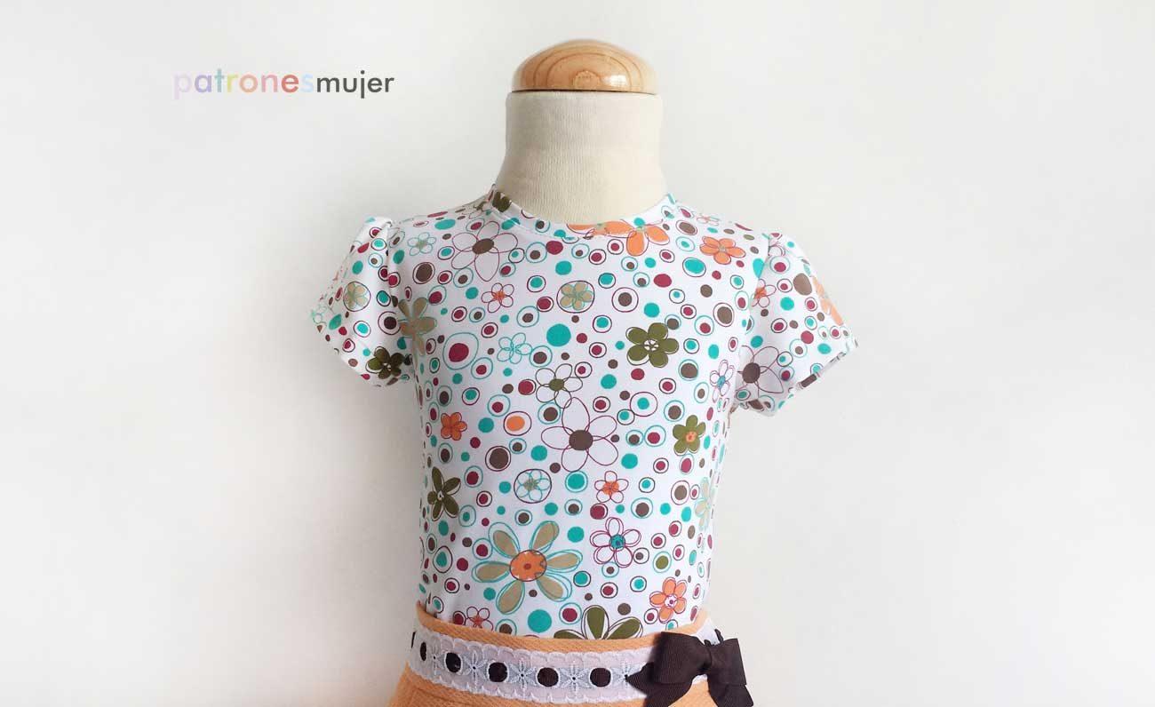 Camiseta de niña: DIY - Patronesmujer: Blog de costura, patrones y ...