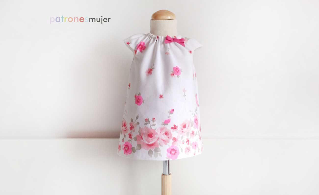 Vestido bebé con manga: DIY - Patronesmujer: Blog de costura ...