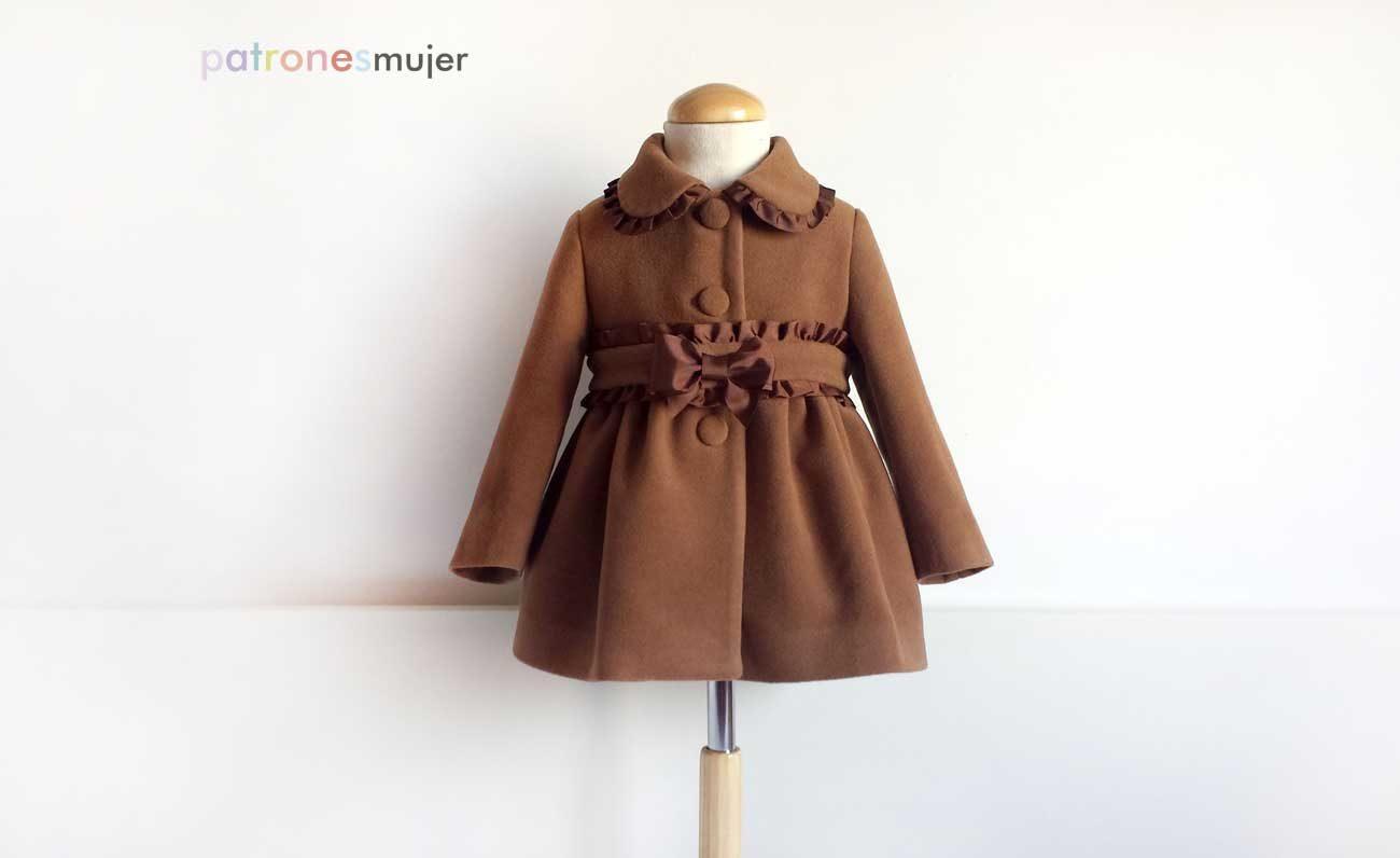 Hola chicas!!!! Recién estrenado el otoño debemos irnos preparando para el  frío y que mejor que con un abrigo precioso en paño color camel 691bd187922f