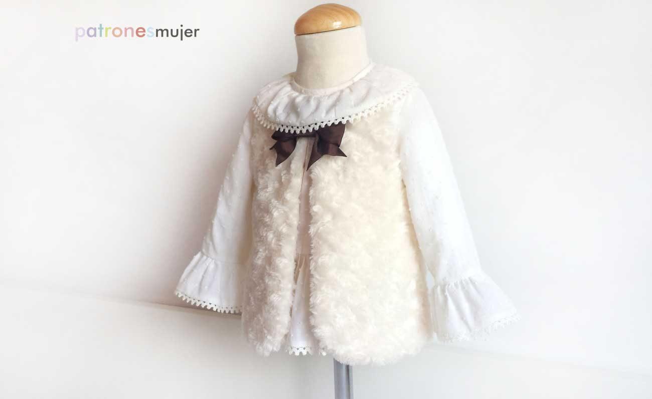 b15236bb7 Chaleco de niña: DIY - Patronesmujer: Blog de costura, patrones y telas.