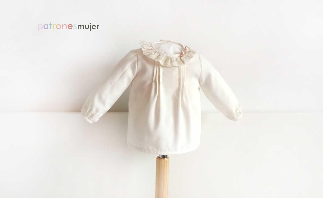 Blusa bebé con manga larga: DIY - Patronesmujer: Blog de costura ...