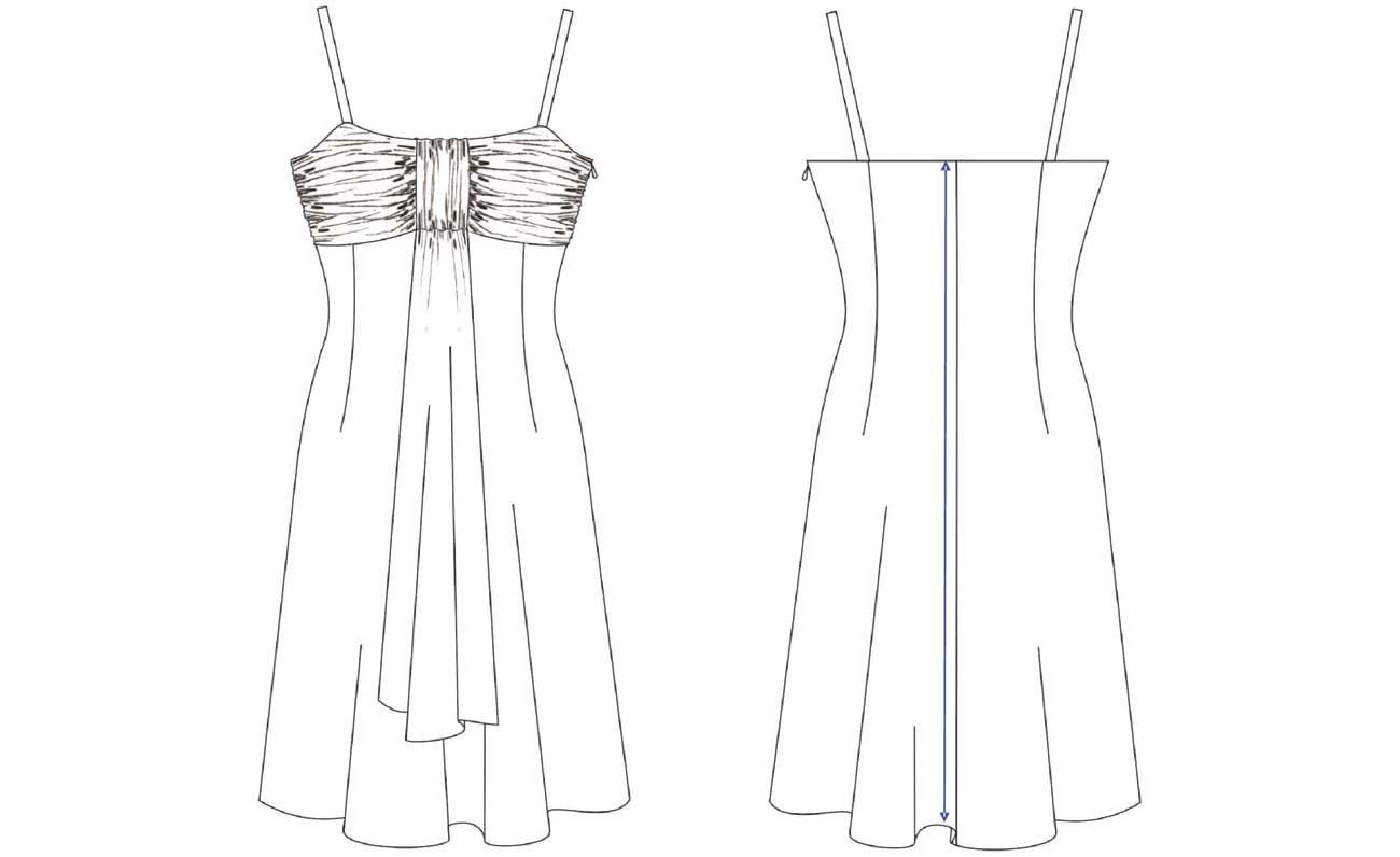 Patrón vestido de gasa: Gratis. - Patronesmujer: Blog de costura ...