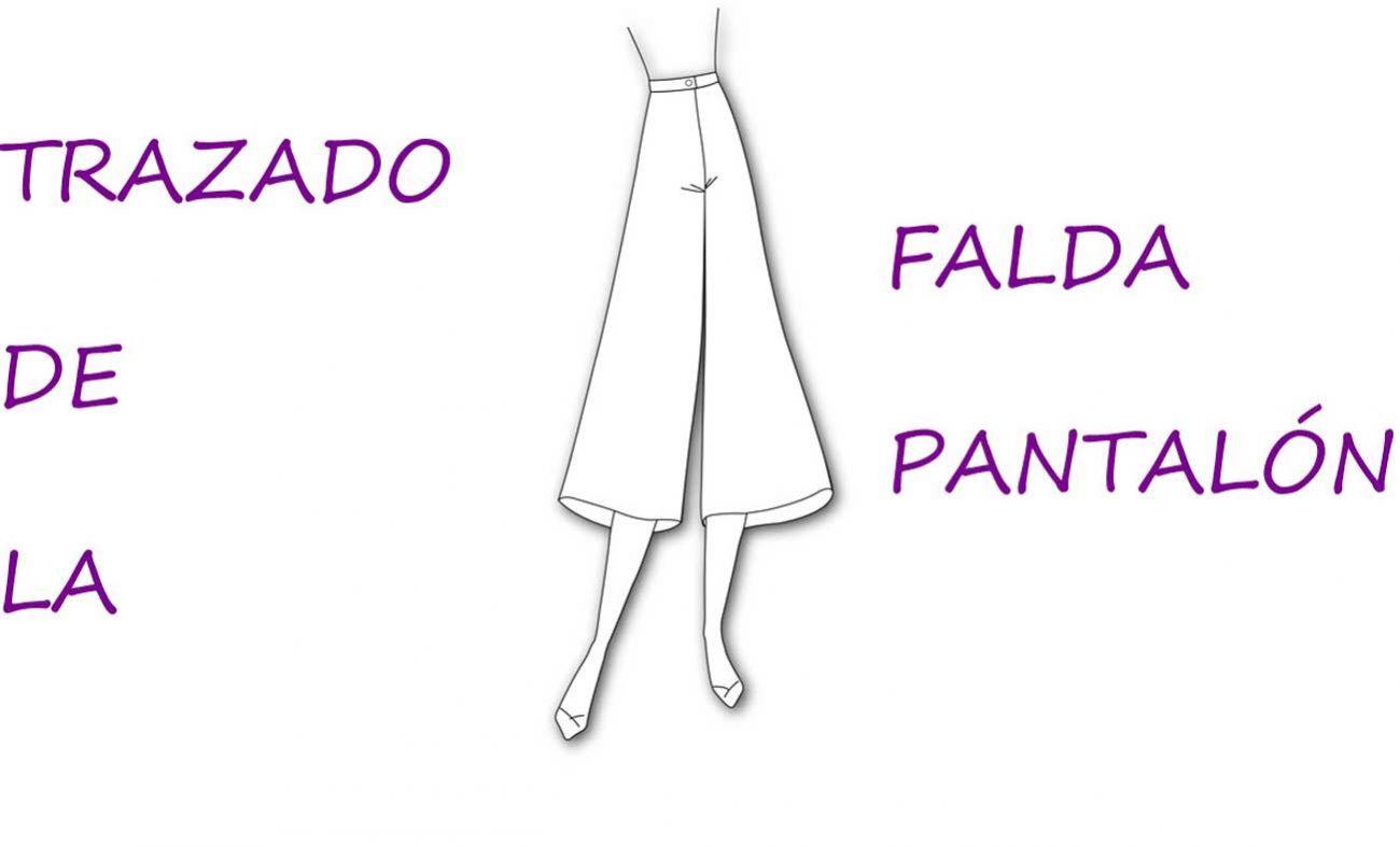 Trazado de la falda pantalón: Patrones - Patronesmujer: Blog de ...