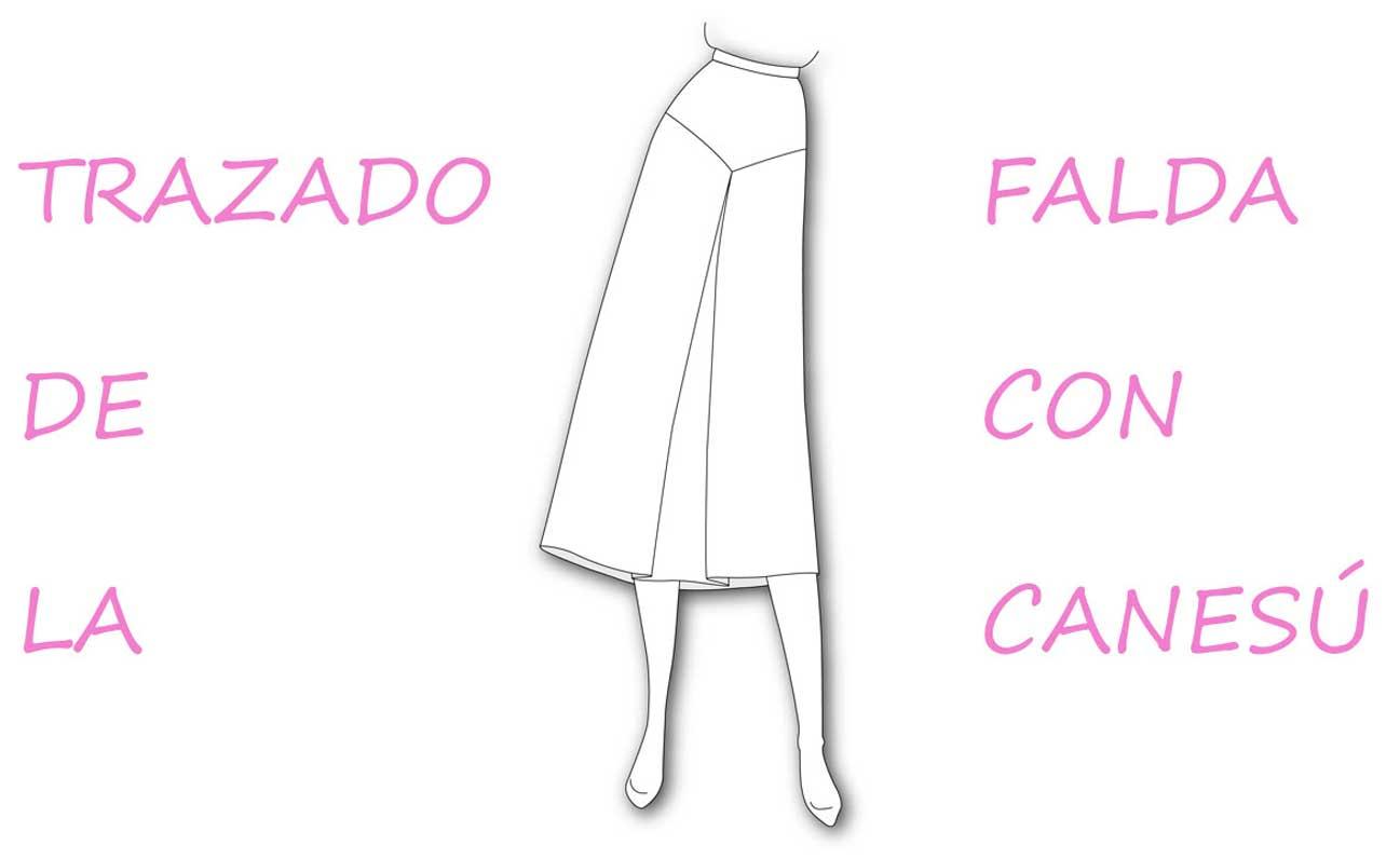 Falda con canesú y tablón: Curso de patronaje. - Patronesmujer: Blog ...