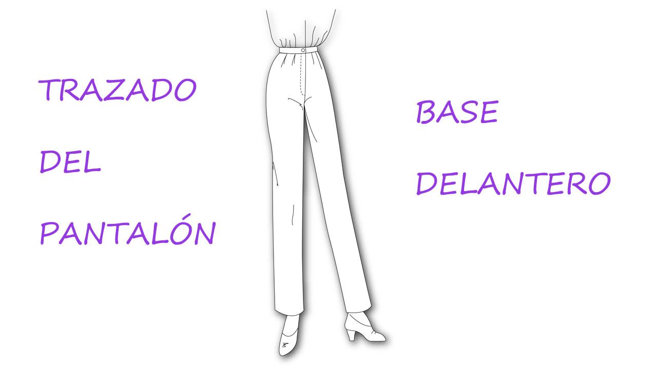 Trazado del pantalón base: Curso de patronaje. - Patronesmujer: Blog ...
