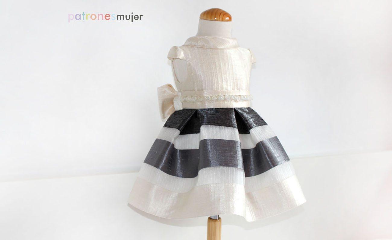 Vestido de niña para arras: Costura de niñas. - Patronesmujer: Blog ...