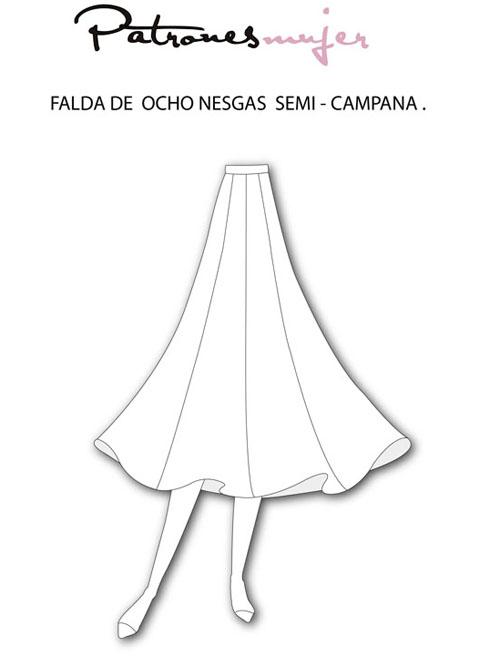 0 - JUEGO SIGUE LA IMAGEN  II - Página 32 Falda-de-8-nesgas-semi-campana-BLOG