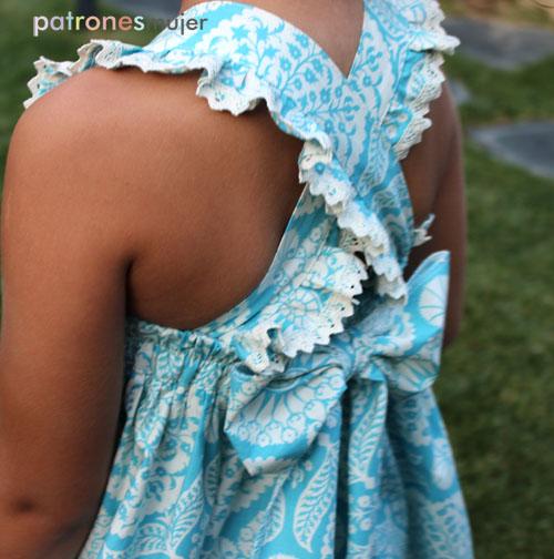 Vestido lucia patronesmujer