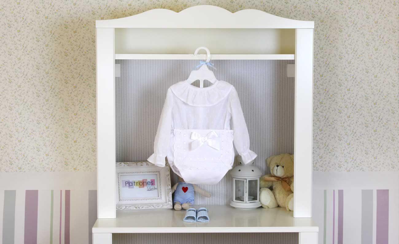 Blusa bebé con volante en escote: Costura fácil. - Patronesmujer ...