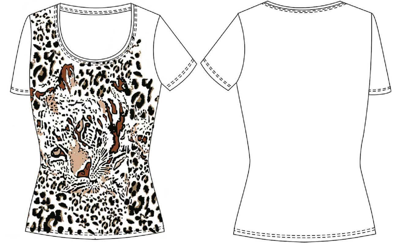 Patrón de camiseta básica con manga: DIY - Patronesmujer: Blog de ...