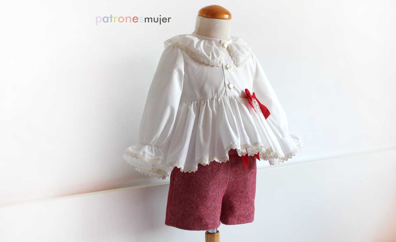 Shorts niña con bolsillo francés. DIY - Patronesmujer: Blog de ...