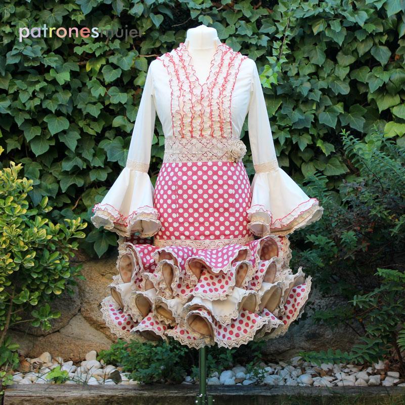 Conjunto flamenca mujer-tienda