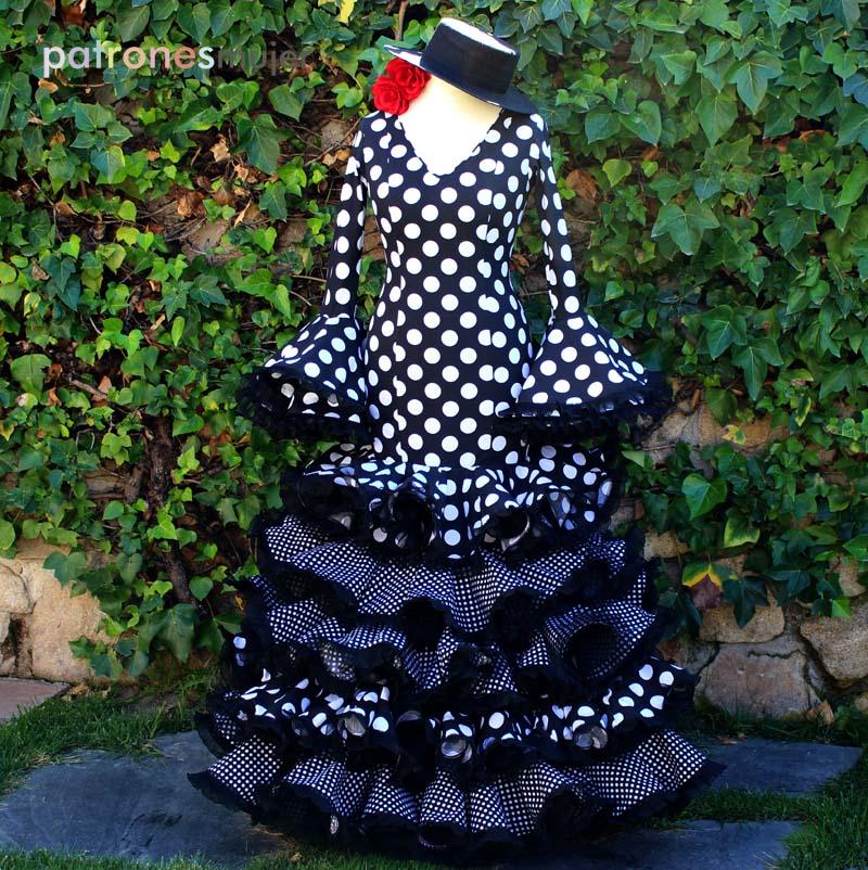 patrón-flamenca-mujer-5-volantes-tienda
