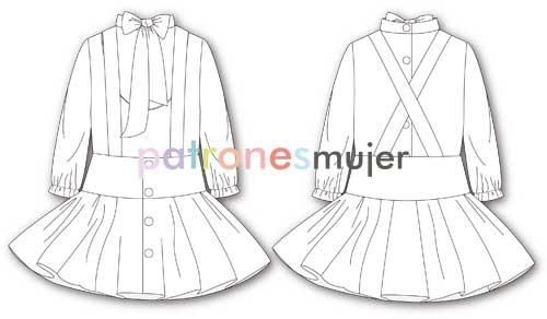 conjunto-de-falda-y-blusa-dibujo-dibujo-tecnico