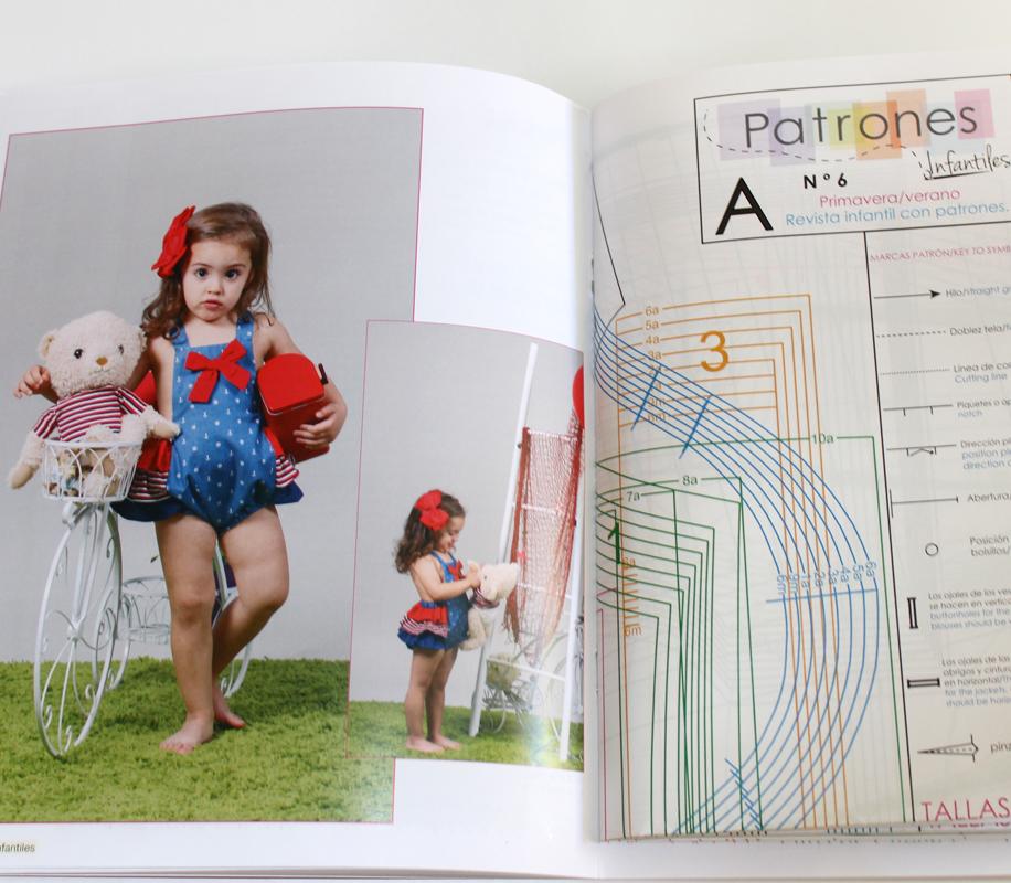 Revista de patrones nº 6. Moda para niños. - Patronesmujer: Blog de ...