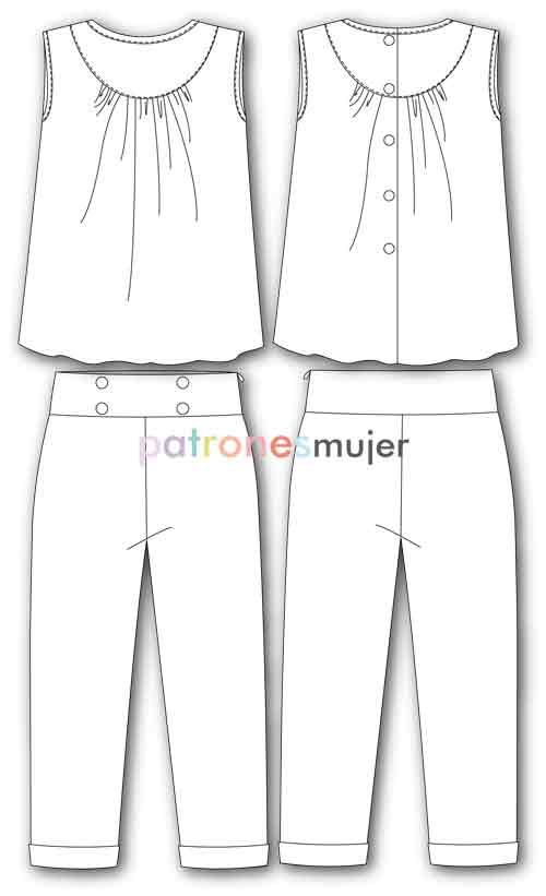 conjunto-de-niña-pantalón-dibujo