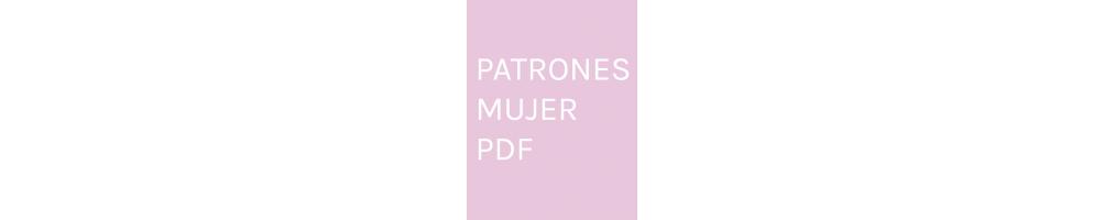 Patrones de ropa para mujer en PDF para imprimir en casa