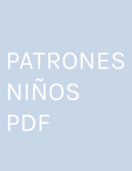 PATRONES NIÑOS PDF