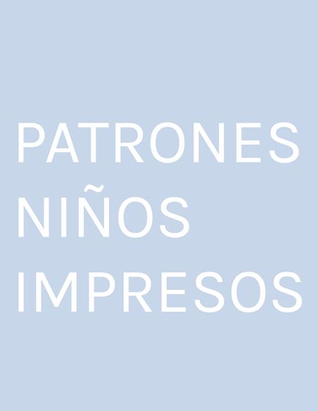 PATRONES NIÑOS IMPRESOS