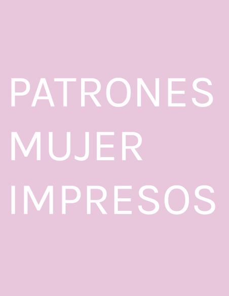 PATRONES  MUJER  IMPRESOS