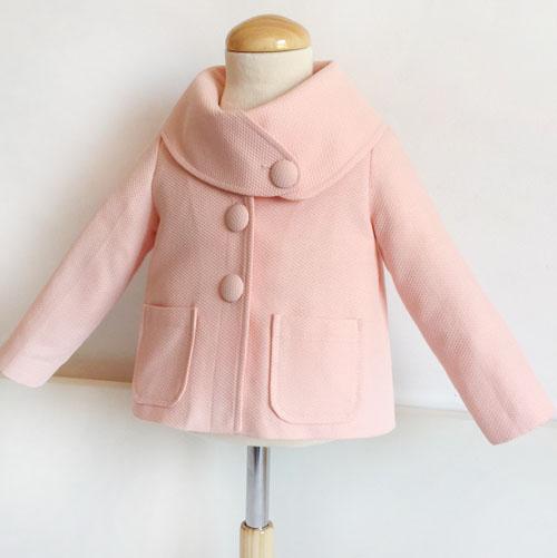 Patrón abrigo rosa
