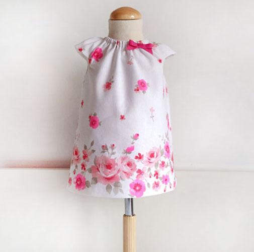 patrón vestido bebé